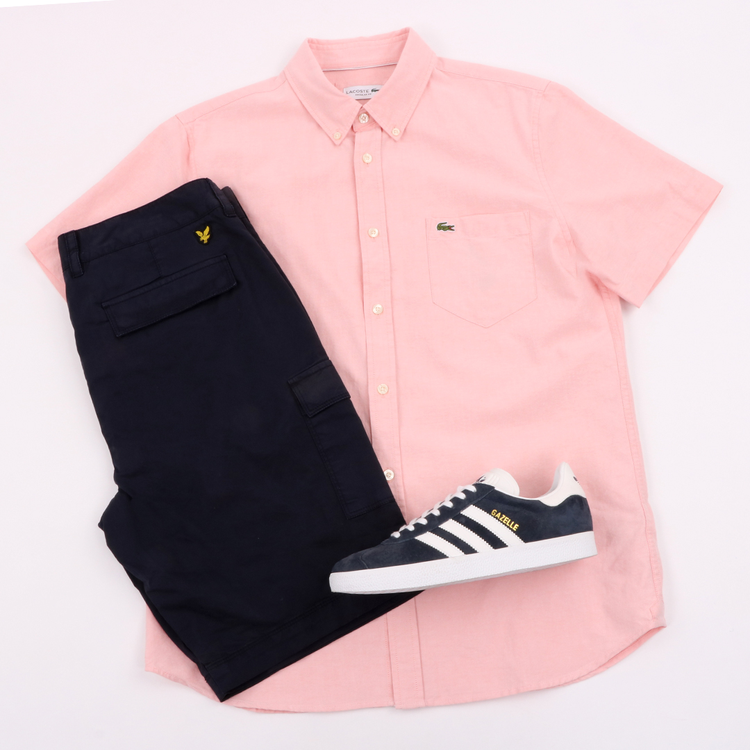 Lacoste short sleeved shirt