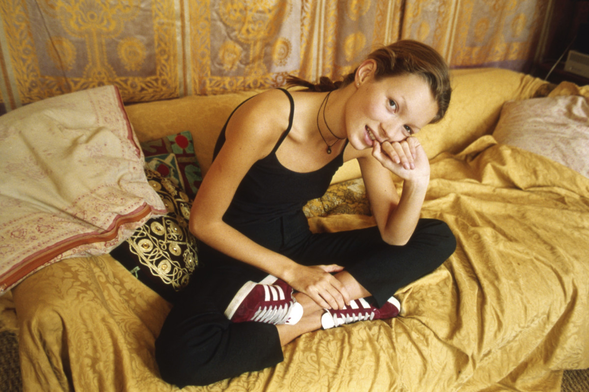 Kate Moss adidas Gazelle