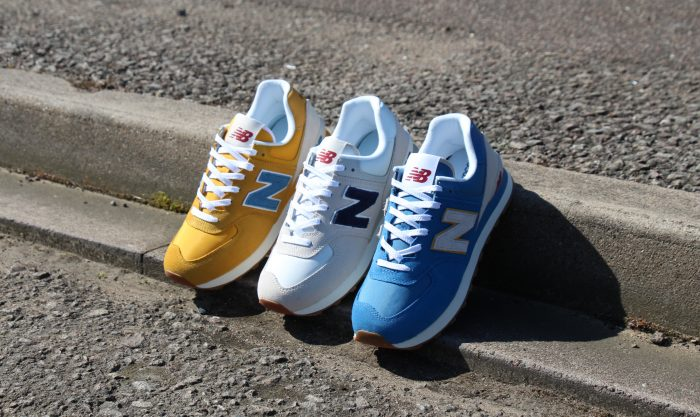 new balance trainers blue