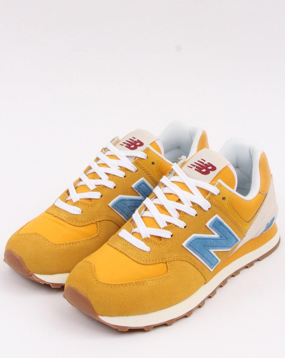 New Balance 574 Varsity Gold