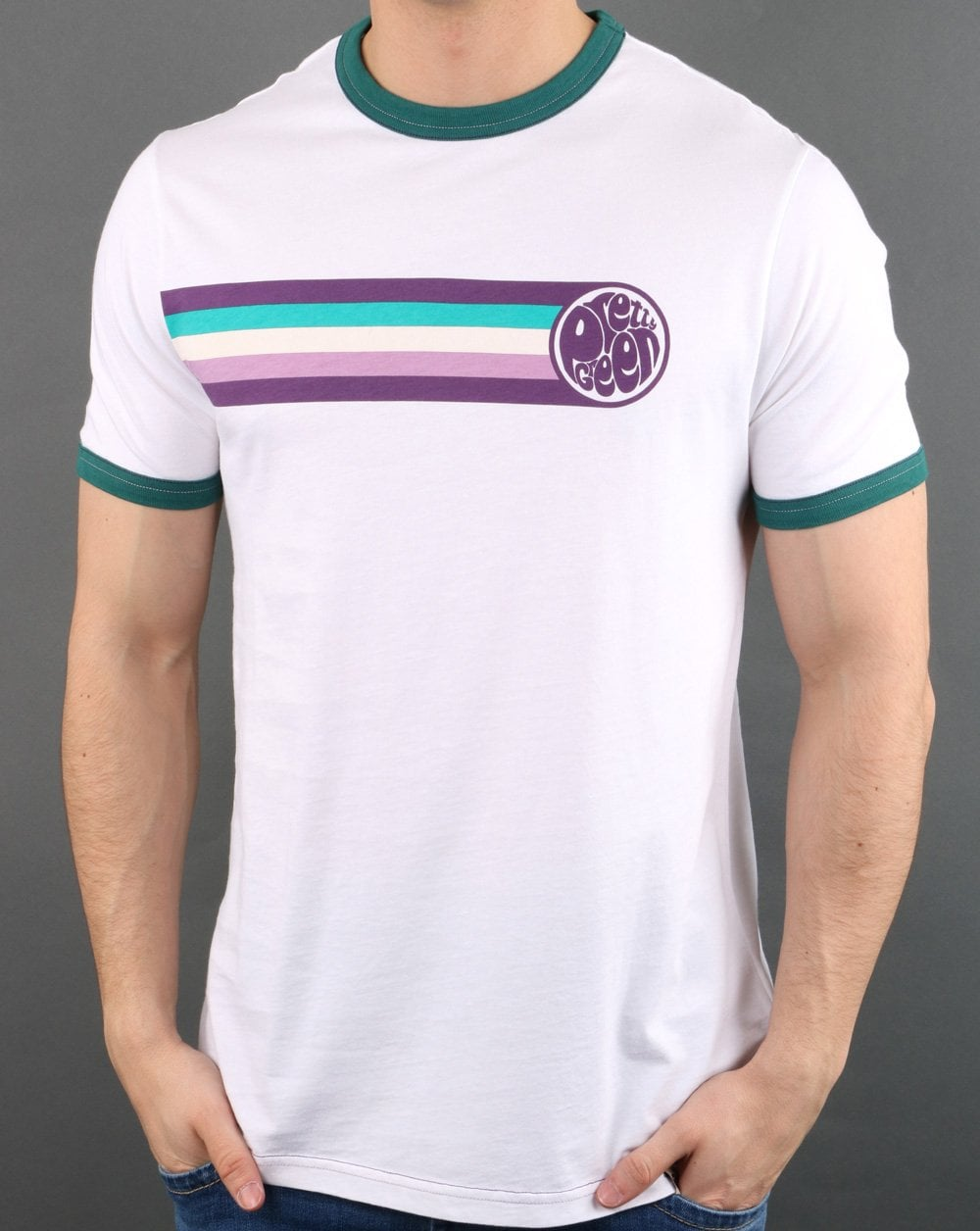 Pretty Green Ringer Tee