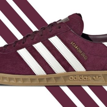 adidas Hamburg Trainer Burgundy