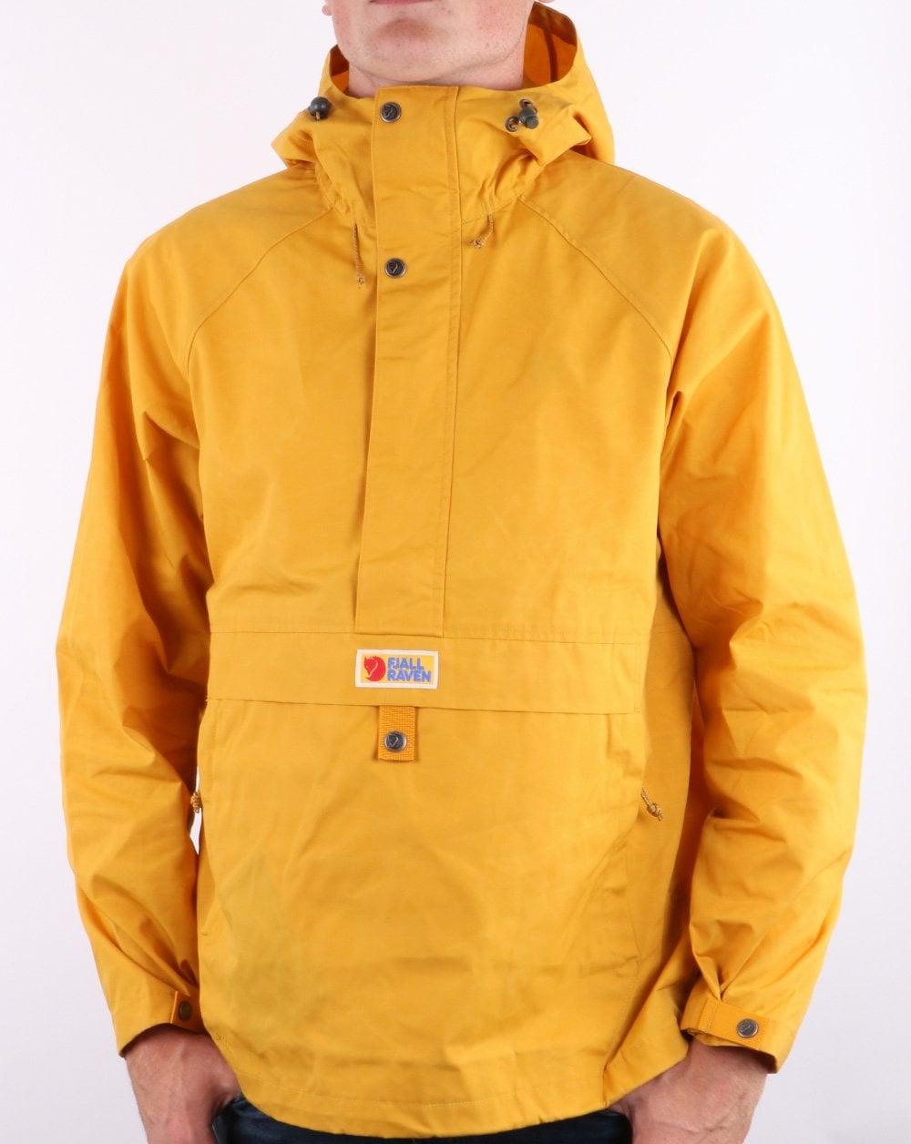 Fjällräven Vardag Anorak Mustard Yellow