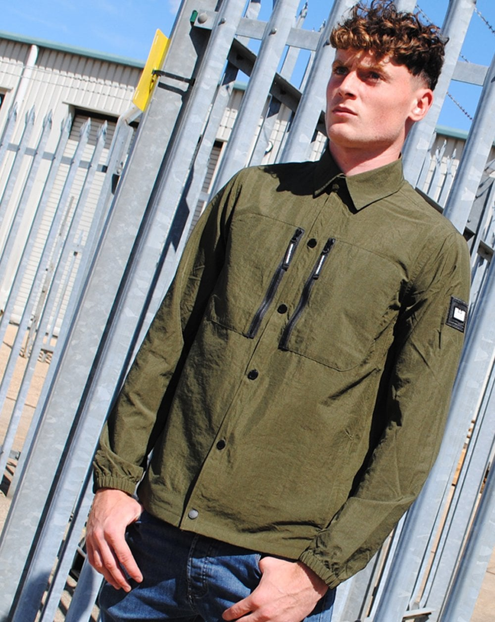 Weekend Offender Nicky Eyes Overshirt
