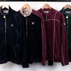 Fila Velour Track Tops