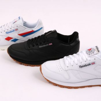 Reebok Classic Leather white/red/blue