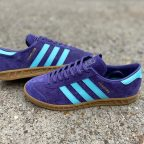adidas Hamburg Tech Purple trainer