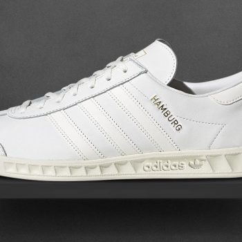 adidas Hamburg leather monochrome