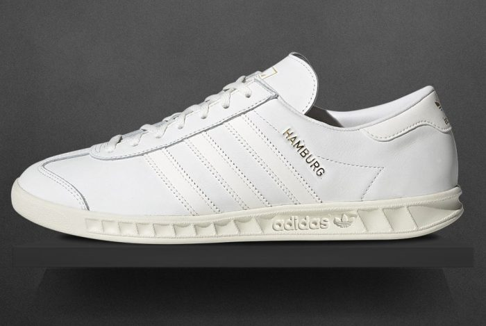 The adidas Hamburg Trainers Gets A Luxurious Leather Update - 80's ...