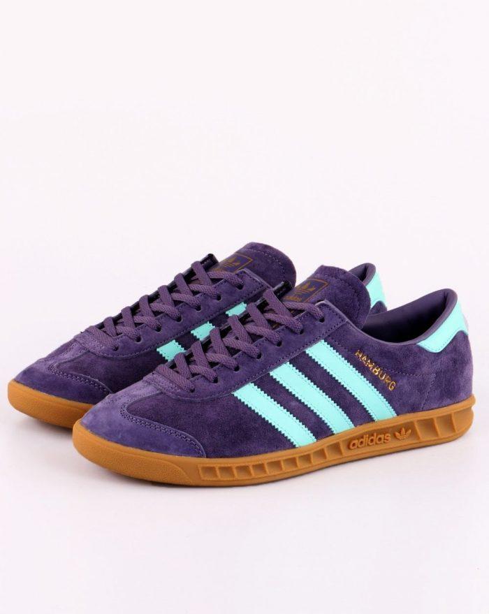 adidas Hamburg Tech Purple trainer