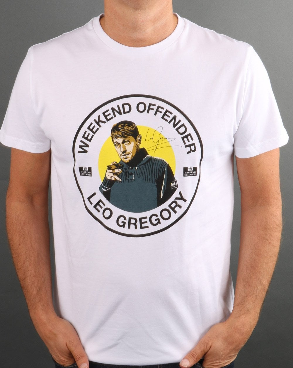 Leo Gregory x Weekend Offender Signature t-shirt