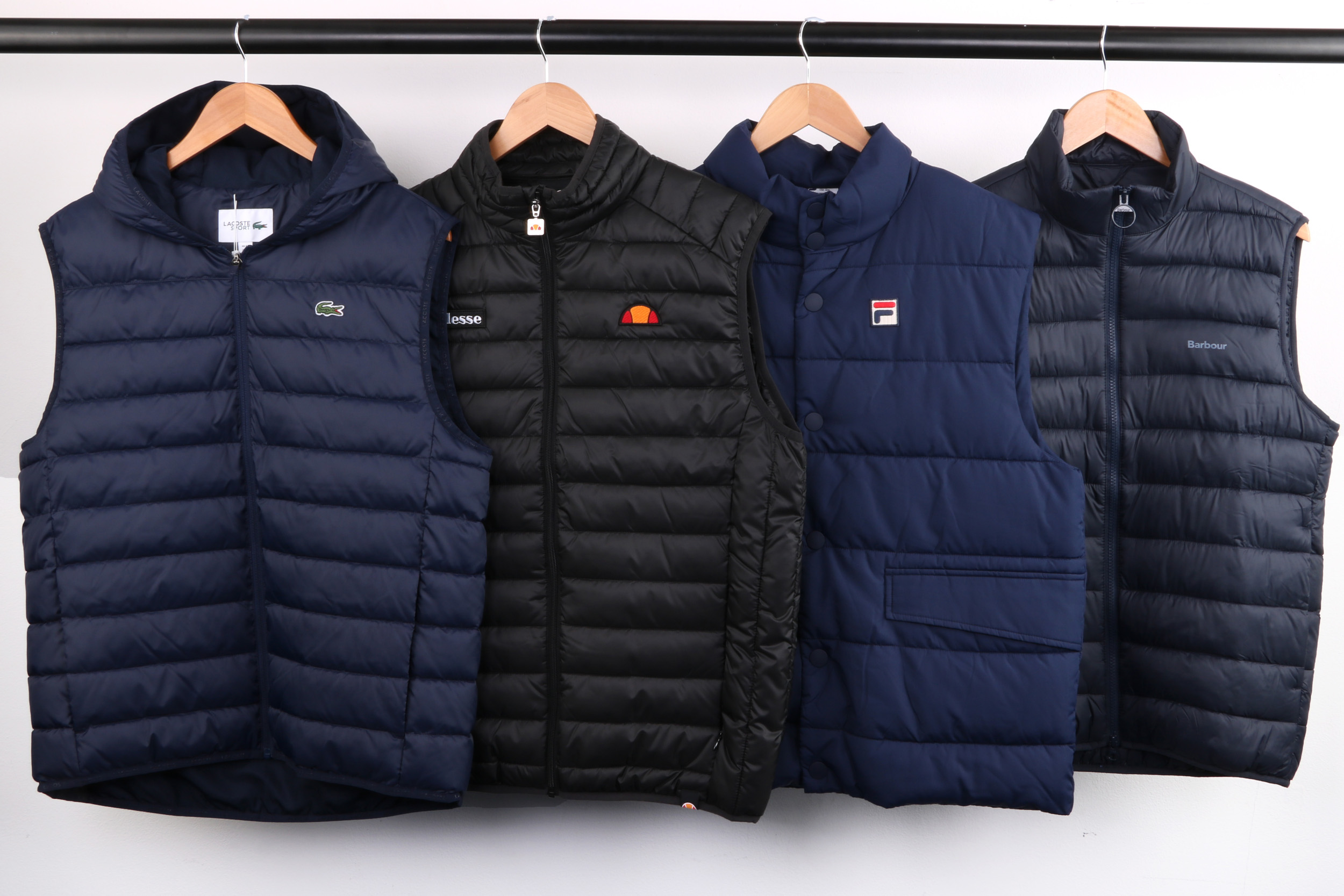 Casual Gilets Lacoste Hooded Gilet