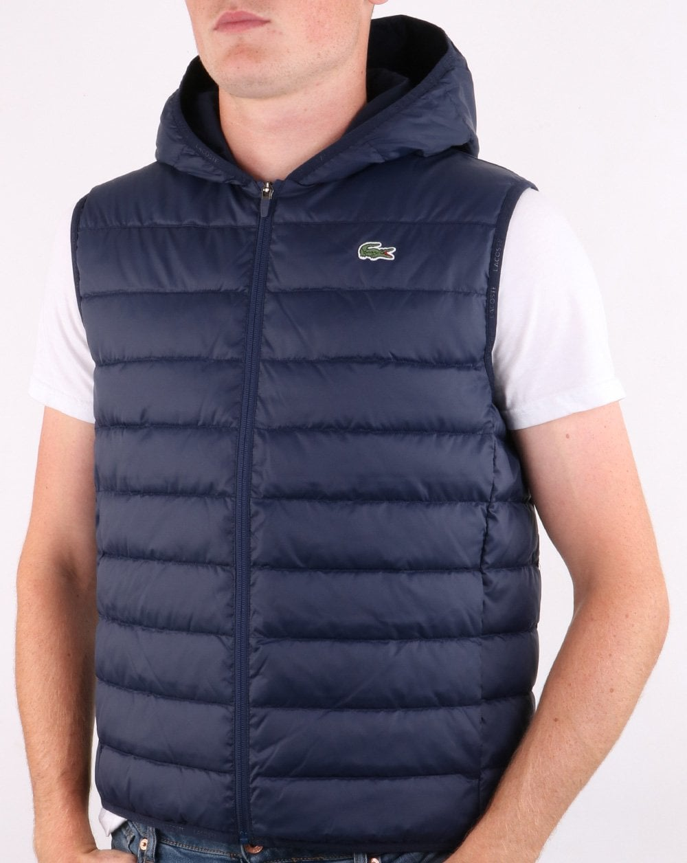 Lacoste Hooded Casual Gilet