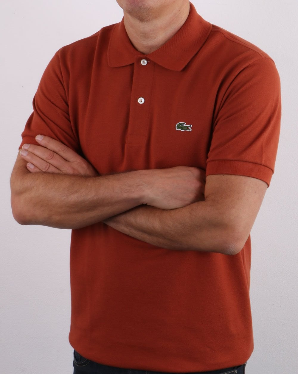 Lacoste Polo Shirt Rust