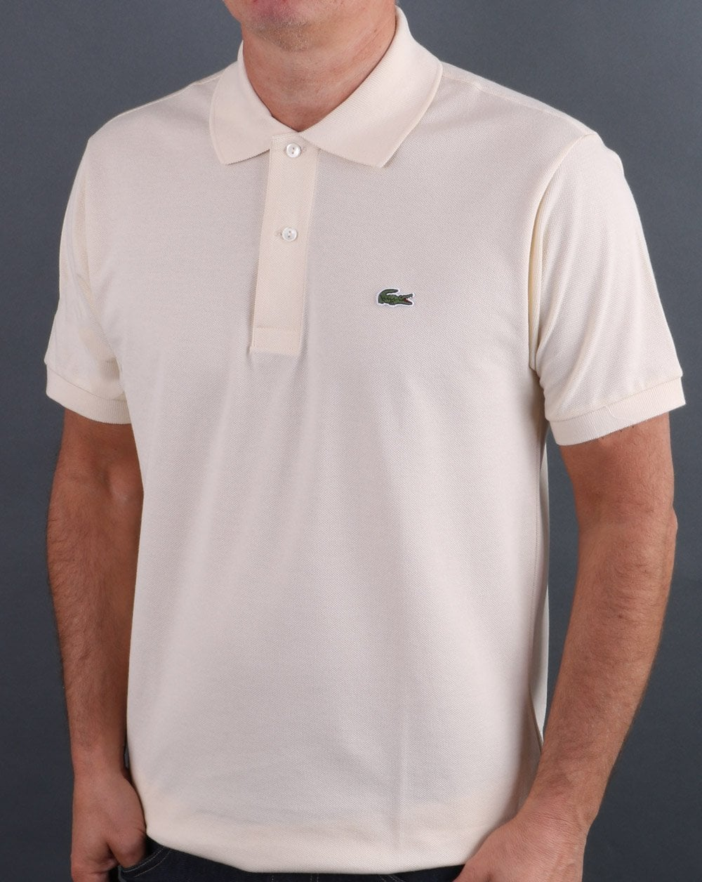 Lacoste Polo Shirt Vanilla Cream
