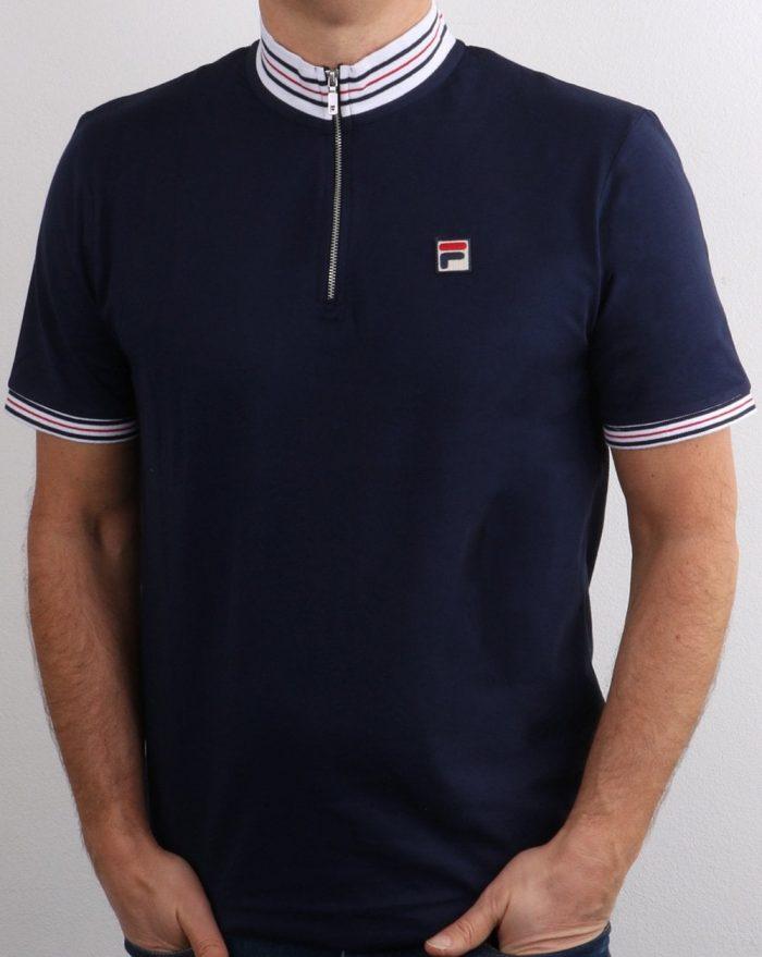 Fila 1/4 zip polo shirt
