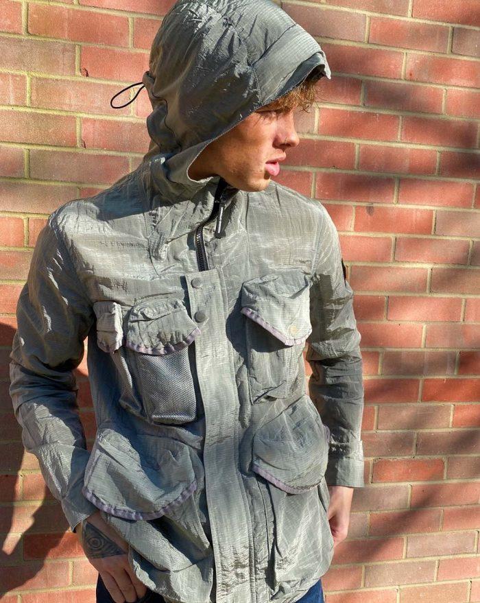 Weekend Offender Cotoca Jacket Grey