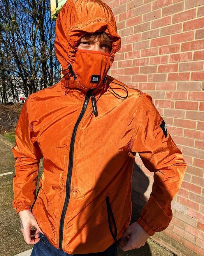 Weekend Offender Technician Jacket Burnt Orange