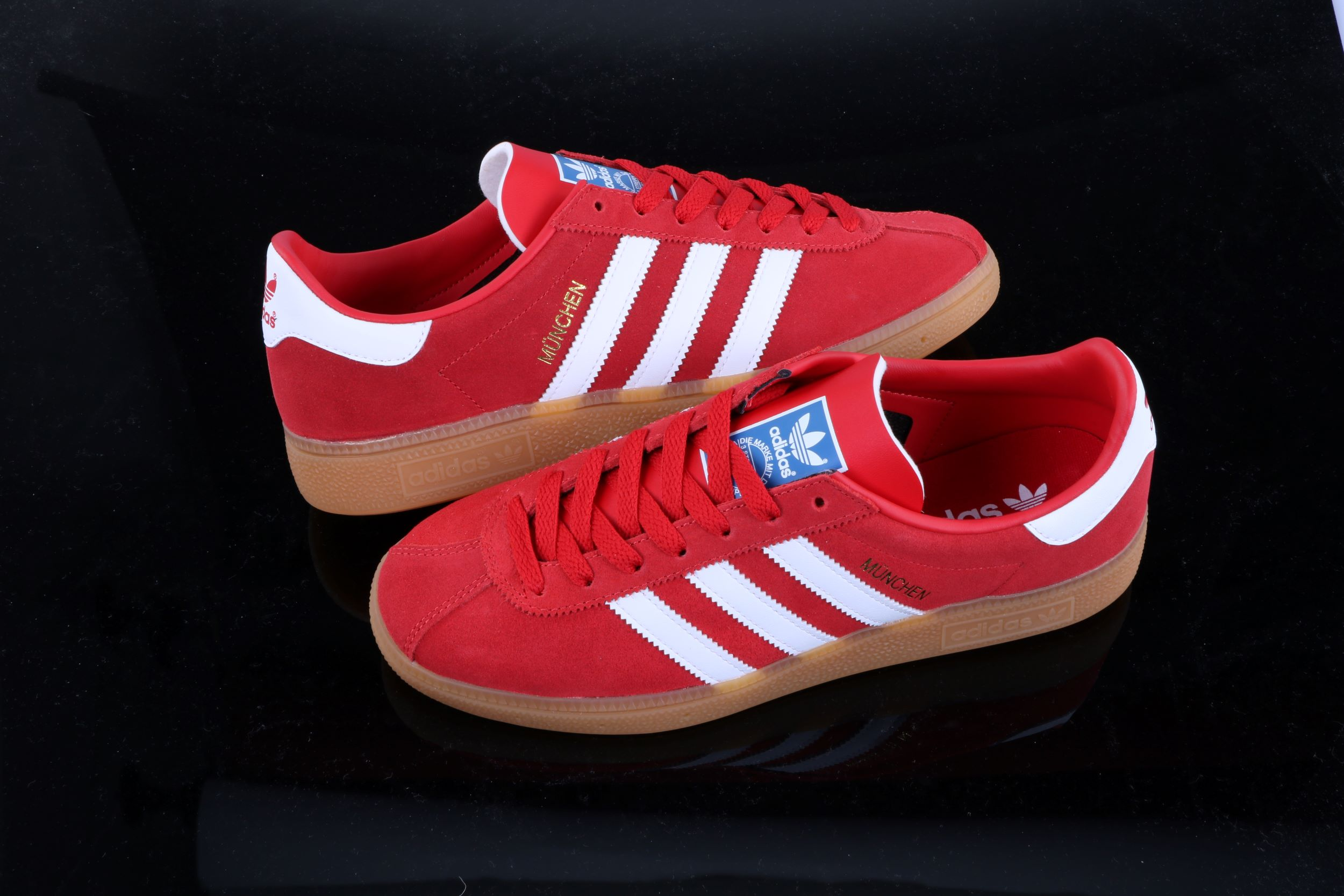 adidas München trainer Japan Red