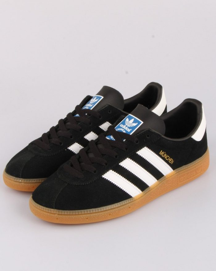 adidas München trainer Japan black