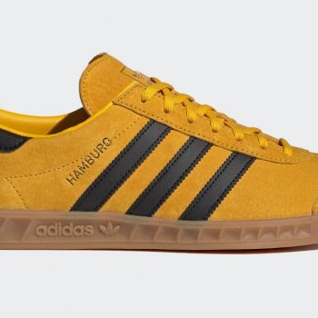 adidas Hamburg yellow black
