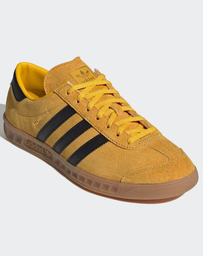The adidas Hamburg Trainer Arrives In An Updated Yellow & Black ...