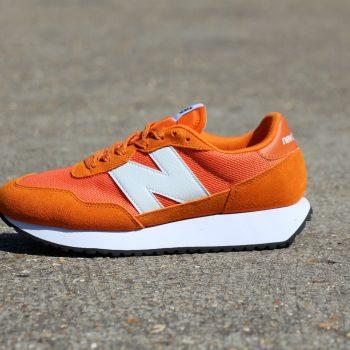 New Balance 237 Orange trainer