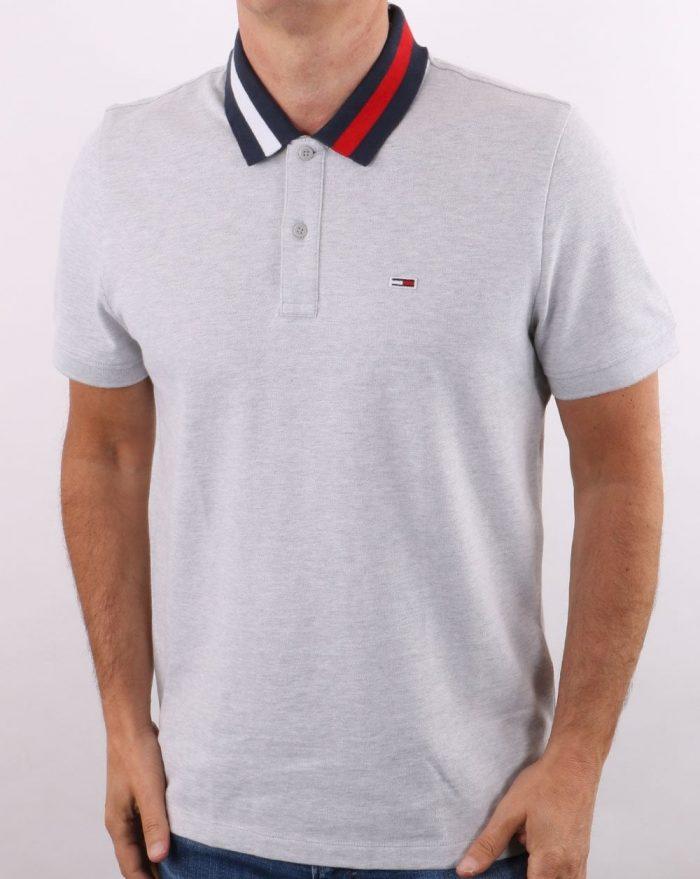 Tommy Hilfiger Flag Neck Polo Shirt