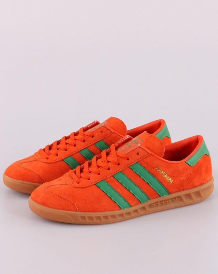adidas city series hamburg vibrant orange green