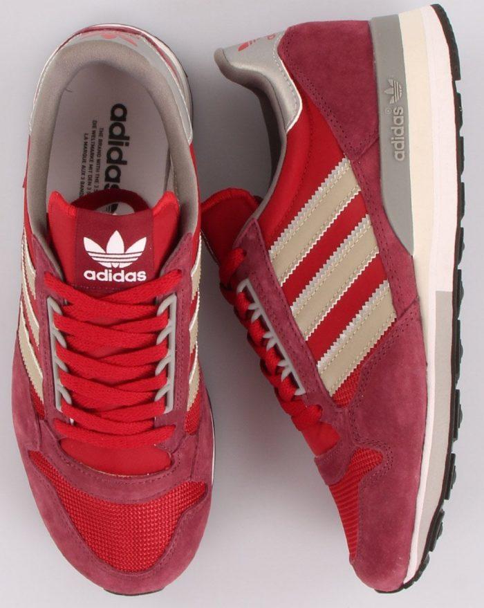 adidas ZX 500 red crimson