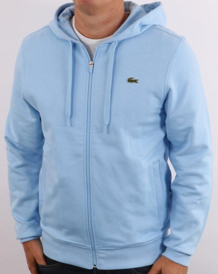 Lacoste Hooded Sweatshirt Sky Blue