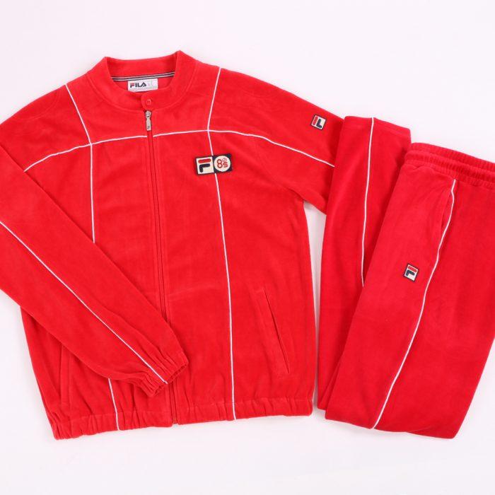 Fila Terrinda Tracksuit Red