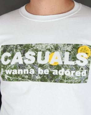 80s Casual Classics Adored Long Sleeve T-shirt White