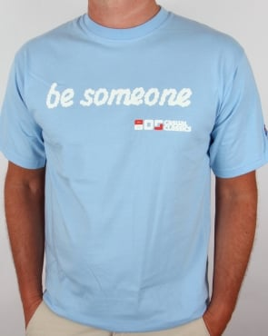 80s Casual Classics Be Someone Cloud T-shirt Sky Blue
