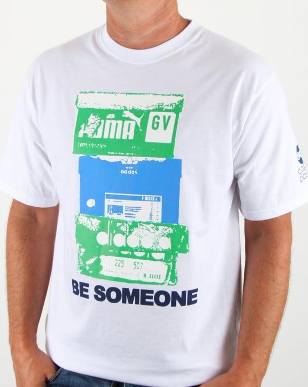 80s Casual Classics Box T Shirt White