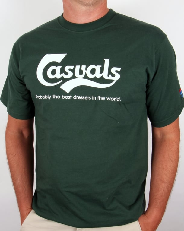 80s Casual Classics Casuals Best Dressers T-shirt Green