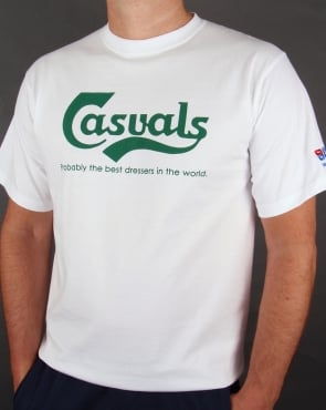 80s Casual Classics Casuals Best Dressers T-shirt White