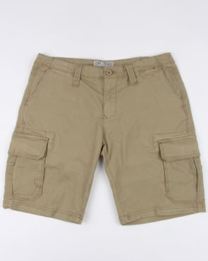 80s Casual Classics Combat Shorts Stone