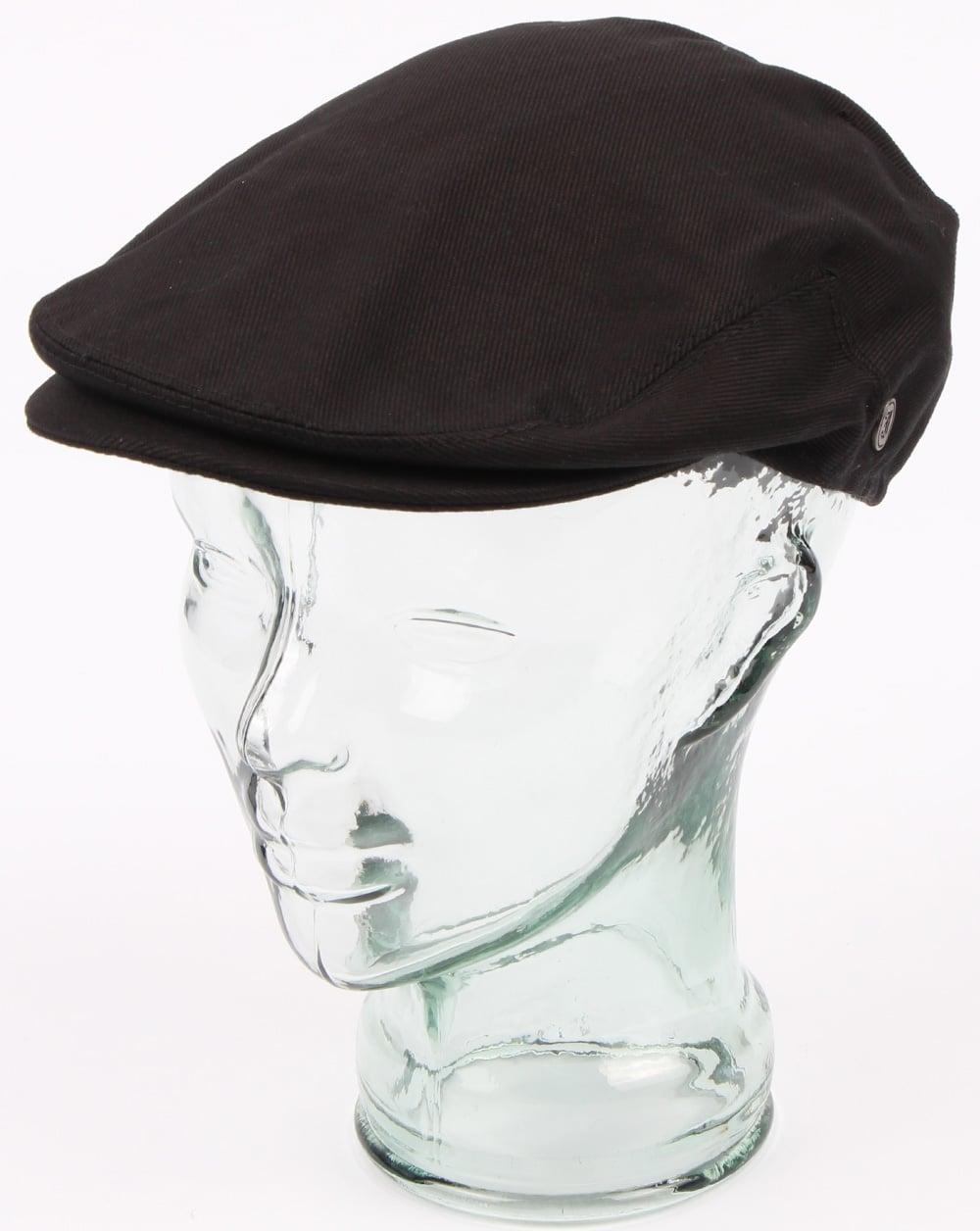 f9a73daa Cotton Flat Cap Black, Mens, Hat, Peaky Blinders | 80s casual classics