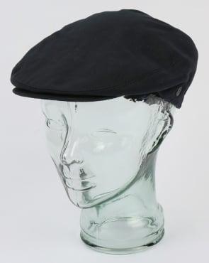 80s Casual Classics Cotton Flat Cap Navy