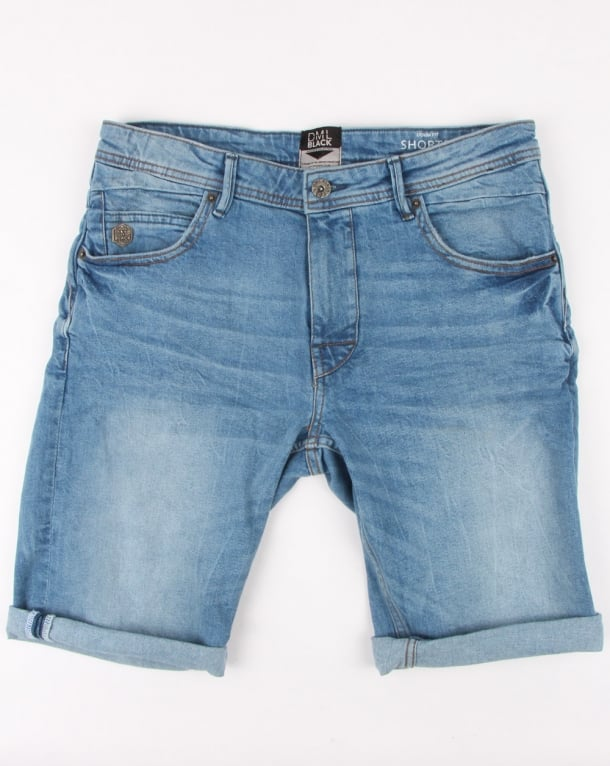 80s Casual Classics Denim Shorts Light Wash