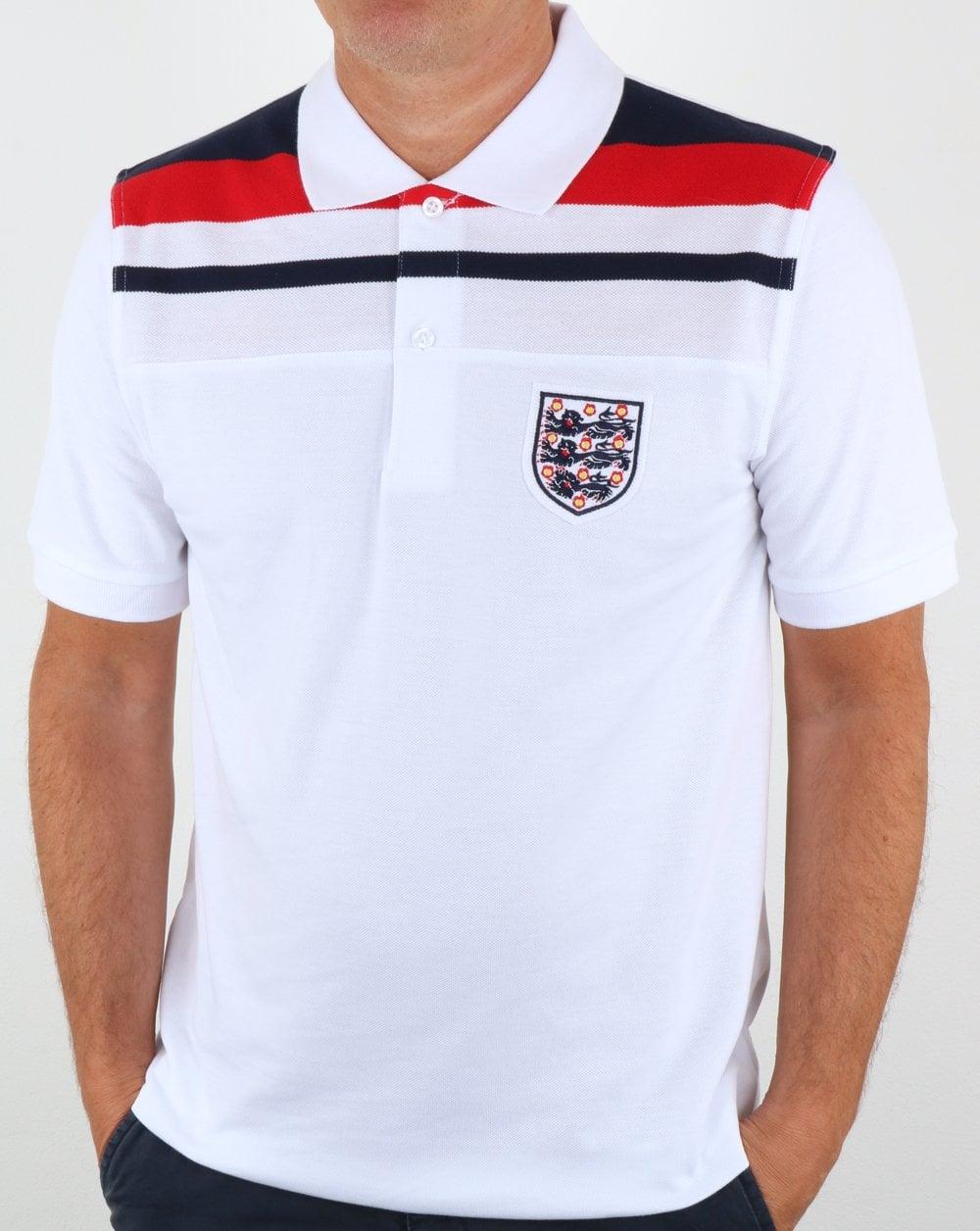 39376df3c 80s Casual Classics 80s Casual Classics England 1982 Polo Shirt White