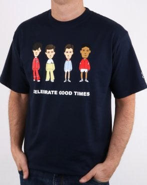44114328d7d 80s Casual Classics Firm Business Love T Shirt Navy