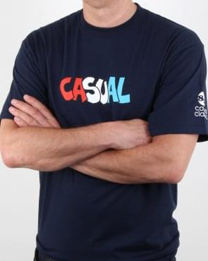 80s Casual Classics Graffiti T Shirt Navy