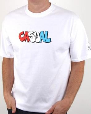 80s Casual Classics Graffiti T Shirt White