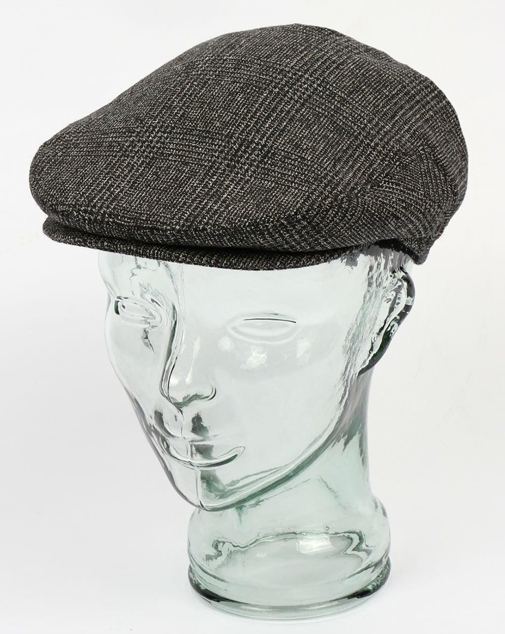 9a7d97104c9 80s Casual Classics 80s Casual Classics Naple Pure Wool Flat Cap Black
