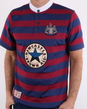 80s Casual Classics Newcastle United 1996 Away Shirt Claret/navy