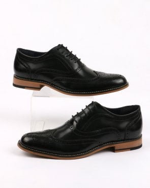 80s Casual Classics Oxford Brogues Black