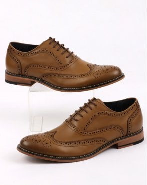 80s Casual Classics Oxford Brogues Tan