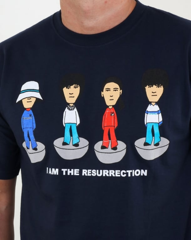 80s Casual Classics Roses Table Football T-shirt Navy